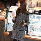 ※現貨【D927170】韓風混色毛呢短裙...
