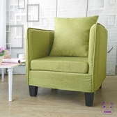 單人沙發 懶人沙發單人布藝沙發咖啡廳卡座網吧沙發椅小戶型臥室沙發椅北歐 點點服飾