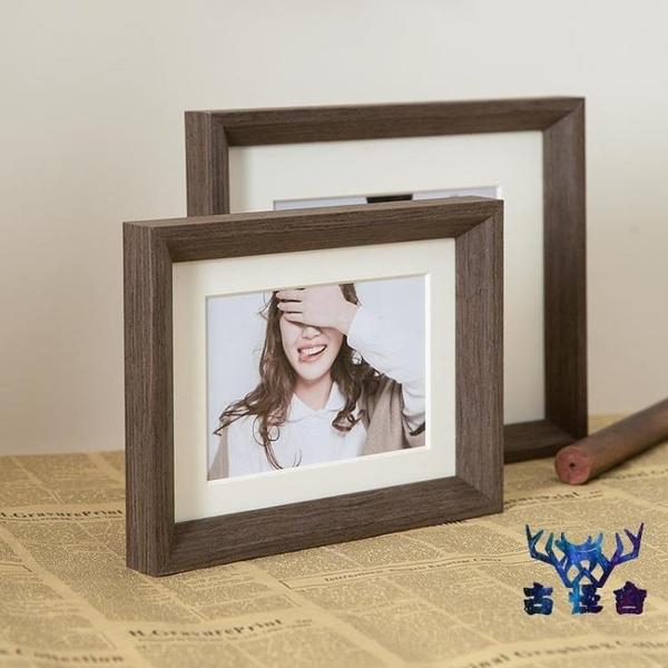 相框組合擺臺照片8寸婚紗照實木畫框掛墻簡約時尚【古怪舍】