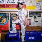 兒童套裝 莫兒童街舞套裝男童hiphop演出服裝嘻哈風夏季工裝帥氣潮裝