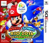 3DS 瑪利歐&索尼克 AT 里約熱內盧奧運(美版代購)