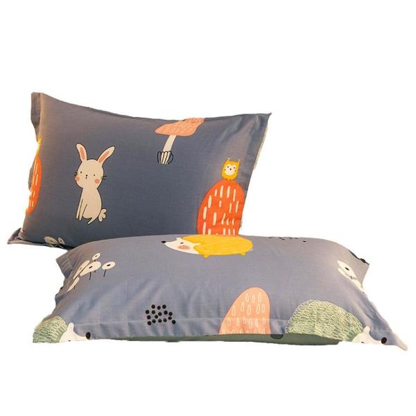 南極人純棉枕套一對裝48x74cm枕芯全棉內膽套雙人單人兒童枕頭套 設計師生活百貨