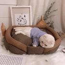 網紅四季通用寵物貓窩狗窩墊子泰迪小型中型大型犬貓咪寵物用品床 【母親節禮物】