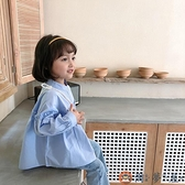兒童襯衫女長袖娃娃衫韓版公主百搭襯衣【淘夢屋】