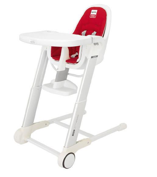 Inglesina義大利兒童餐椅--ZUMA高腳餐椅【贈美耐皿系列餐具送完為止】