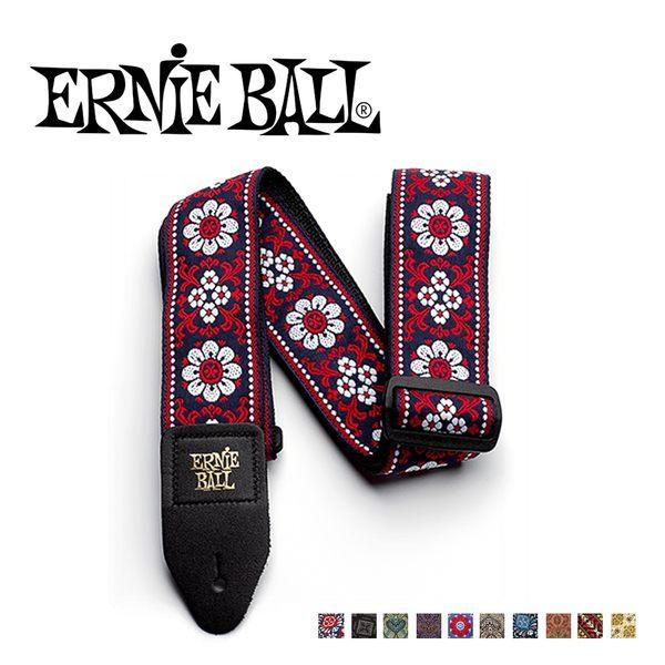 【敦煌樂器】ERNIE BALL 圖騰尼龍吉他背帶 20色