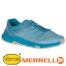 【MERRELL 美國】BARE ACCESS 女越野健身訓練跑鞋『湖水藍』99956 機能鞋.多功能鞋.休閒鞋