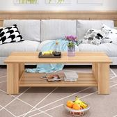 茶幾簡約現代客廳邊幾家具儲物簡易茶幾雙層木質小茶幾小戶型桌子【聖誕節鉅惠8折】
