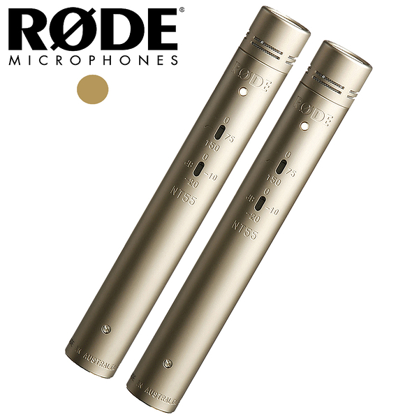★Rode★ NT55 Matched Pair 匹配對電容式麥克風