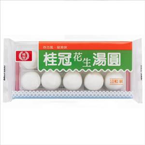 桂冠湯圓花生-10入/盒