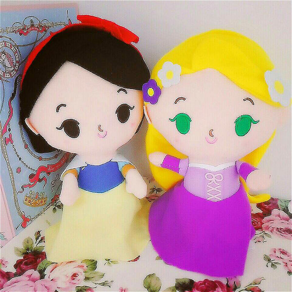 迪士尼白雪公主長髮公主玩偶娃娃小款長174327白174303通販屋