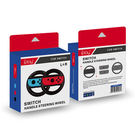 [哈GAME族]滿399免運費 可刷卡●賽車遊戲專用●iPlay Switch NS HB-S002 方向盤握把 一組兩入