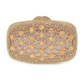 晚宴包-鑲鑽歐美時尚高貴閃耀女手拿包3色73su39【時尚巴黎】
