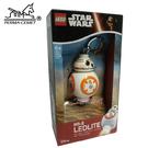 BB8 LEGO/樂高/樂高鑰匙圈/鑰匙圈/星際大戰/Star Wars/LED/LED鑰匙圈