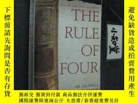 二手書博民逛書店英文原版罕見THE RULE OF FOURY73354 Ian
