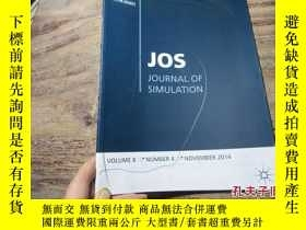 二手書博民逛書店jos罕見journal of simulation volum