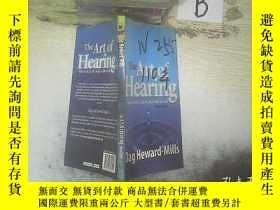 二手書博民逛書店THE罕見ART OF HEARING 聽覺藝術 ..Y261116