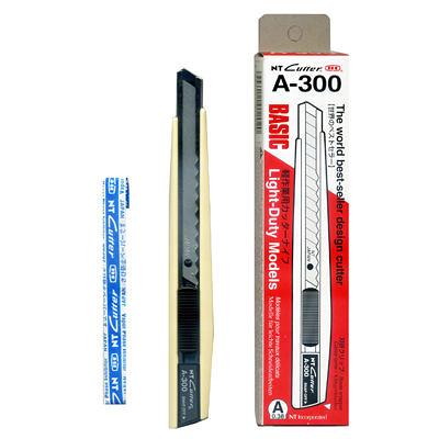NT Cutter A-300美工刀 塑膠殼 米白色 適用BA-170刀片