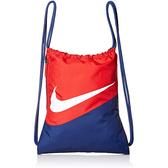 Nike- Logo藍色/紅色健身背袋