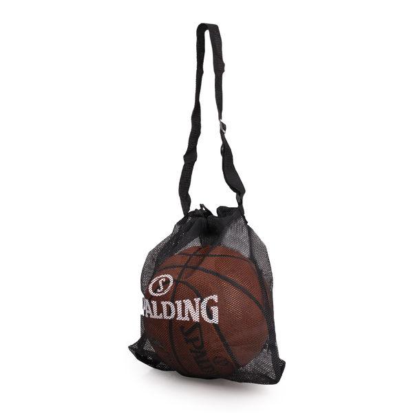 SPALDING 單顆裝側背網袋 (籃球袋 束口袋 單顆裝 斯伯丁 免運 ≡體院≡
