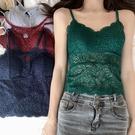 吊帶上衣 吊帶背心女韓版性感美背蕾絲內搭打底小吊帶修身氣質外穿背心上衣 VK1643