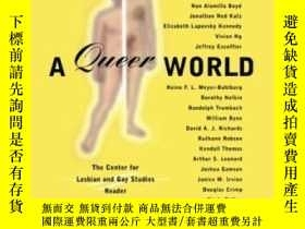 二手書博民逛書店A罕見Queer WorldY255562 Duberman, Martin (edt)  City Univ