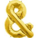 34吋金色字母鋁箔氣球(不含氣)-&