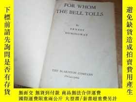 二手書博民逛書店FOR罕見WHOM THE BELL TOLLS 【詳情見圖】Y