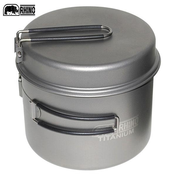 丹大戶外用品【RHINO】超輕鈦合金鍋 KT-15