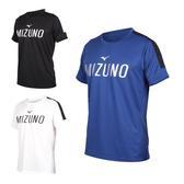 MIZUNO 男短袖T恤(免運 吸汗快乾 美津濃 慢跑 路跑≡排汗專家≡
