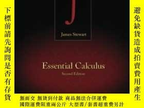 二手書博民逛書店Student罕見Solutions Manual For Stewart s Essential Calculu