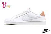 NIKE WMNS COURT ROYALE 成人女款 運動鞋 休閒鞋 皮革板鞋 P7005#白粉◆OSOME奧森鞋業