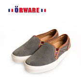 ORWARE-反毛皮休閒板鞋/女款 652034-05(灰)