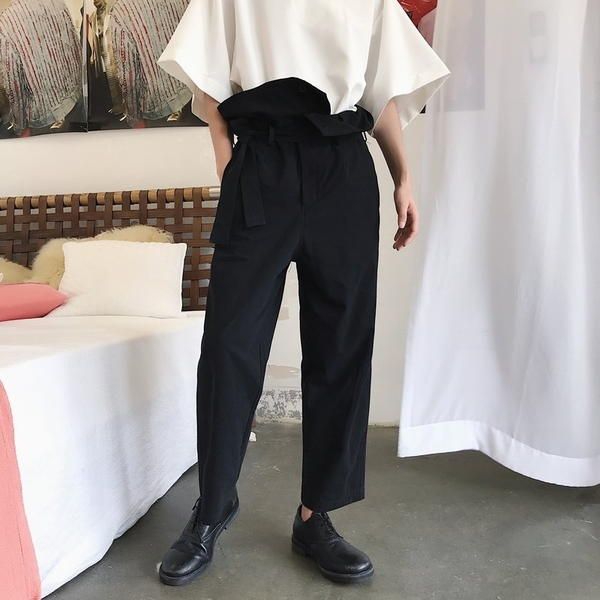 FINDSENSE H1 2018 夏季 新款 男 日本 設計師款 復古 寬鬆