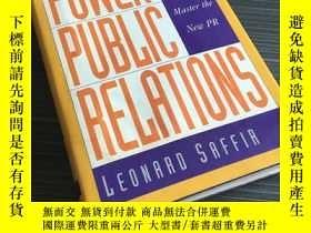 二手書博民逛書店POWER罕見PUBLIC RELATIONS how to master the new pr 97806580