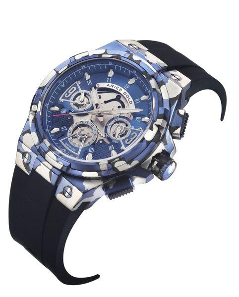 ★Aries Gold★-雅力士手錶-KENSINGTON-G 7003 CABU-BU-錶現精品公司-原廠公司貨