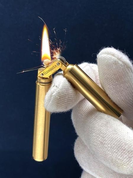 復古煤油打火機老式純銅創意細盤龍棍雙節棍迷你個性袖珍火機男士 初色家居馆