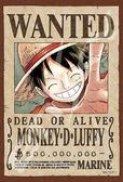 【拼圖總動員 PUZZLE STORY】航海王新版懸賞單-魯夫 日本進口拼圖/Ensky/海賊王 One Piece/150P/迷你