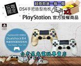 【SONY原廠授權】 PS4 DUALSHOCK 4 控制器 DS4手把造型 小抱枕 【金色/銀色】台中星光電玩