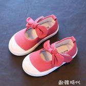 韓版軟底寶寶布鞋春夏女童鞋子1-6歲2小女孩單鞋4兒童3公主鞋  ◣歐韓時代◥