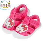 《布布童鞋》HelloKitty凱蒂貓桃色透氣寶寶護趾涼鞋(13~16公分) [ C0A326H ]