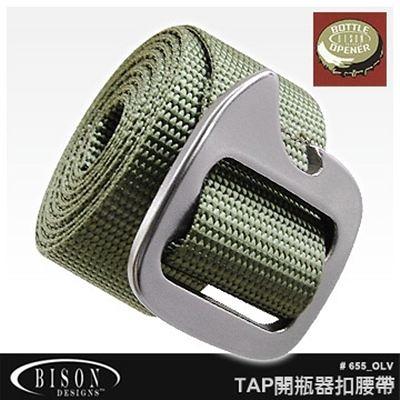 BISON Tap Cap 開瓶器腰帶#655 OLV【AH24061】JC雜貨