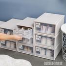 洋洋魚鞋盒抽屜式免組裝防塵透明塑料加厚男女球鞋收納盒自由組合