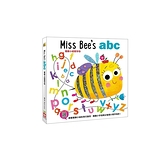 蜜蜂小姐寫字母(觸摸翻翻遊戲書)