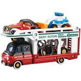 《 TOMICA  》迪士尼小汽車運輸車 - 米奇╭★ JOYBUS玩具百貨