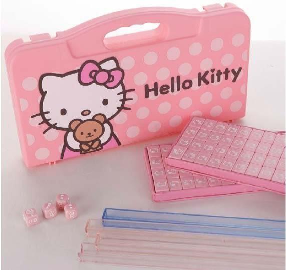 Hello Kitty/凱蒂貓 迷你麻將 卡通麻將牌YG-124569