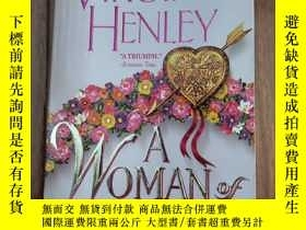 二手書博民逛書店A罕見WOMAN Of PASSION(英文原版)Y192643 Virginia Henley ISLAND