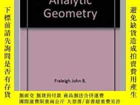 二手書博民逛書店Calculus罕見With Analytic Geometry (addison-wesley Series I