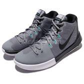 Nike 籃球鞋 Air Integrate 灰 黑 運動鞋 高筒 後跟外露式氣墊 男鞋【PUMP306】 898453-003