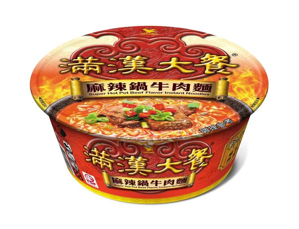 統一滿漢大餐麻辣鍋牛肉麵 (2碗)【合迷雅好物超級商城】